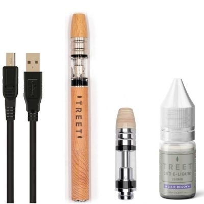 CBD Vape Kit with e liquid TREET