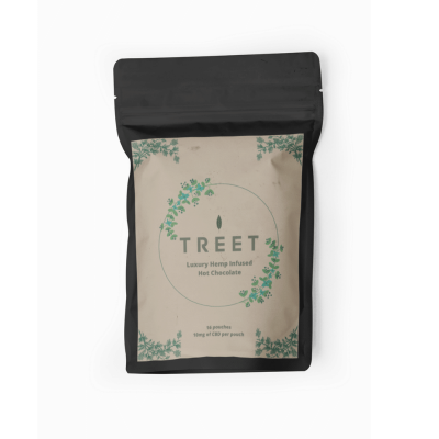 TREET Luxury CBD Infused Hot Chocolate